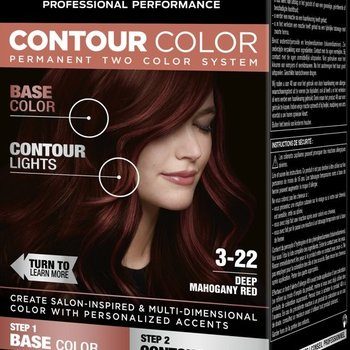 Syoss  Contour Colors 3-22 Mahony Red