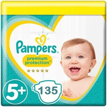 Pampers Premium Protection Maat 5+ - 135 Luiers  Maandbox XL