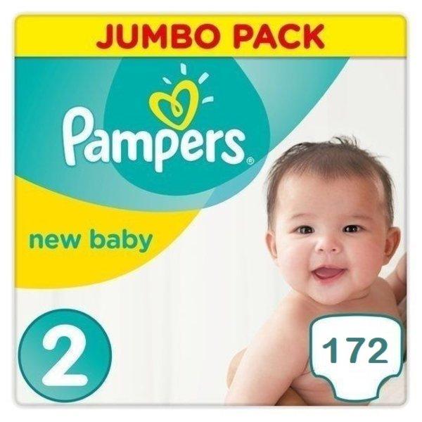 Pampers Pampers New Baby Maandbox Maat 2 - 172 Luiers