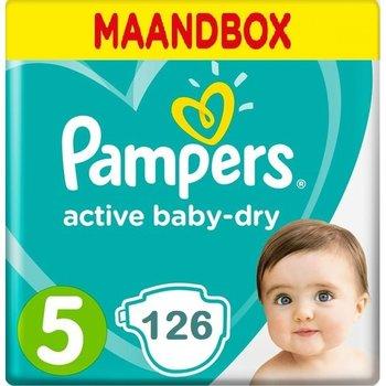 Pampers Active Baby Dry Maandbox Maat 5 - 126 Luiers