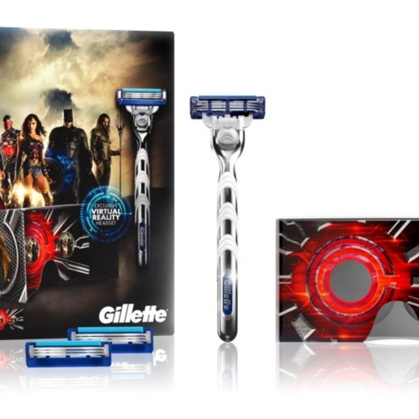 Gillette Mach3 Turbo - Justice League Giftpack