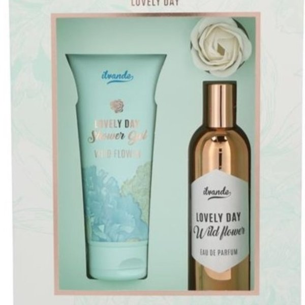 Ilvande Cadeauset EDP + Shower +Bathrose