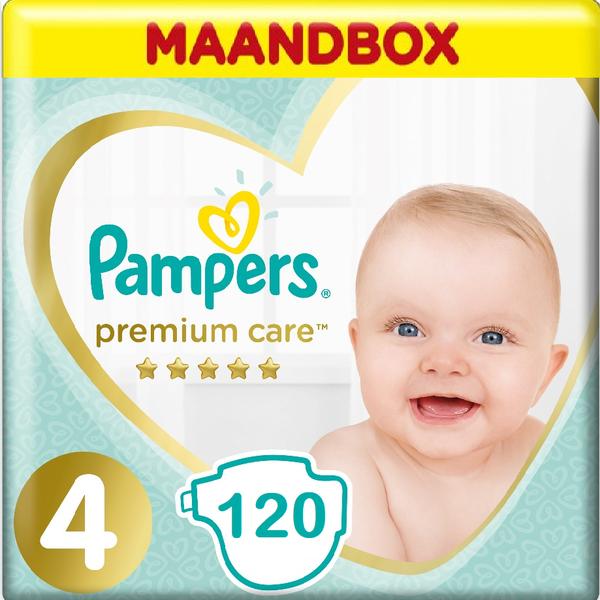 Pampers Pampers Premium Care Maat 4 Maandbox - 120 Luiers