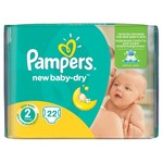 Pampers Pampers New Baby Dry Maat 2 - 22 Luiers