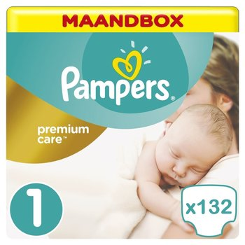 Pampers Premium Care Maat 1 -132 Luiers - Maandbox