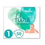 Pampers Pampers Pure Protection Maat 1- 50 Luiers