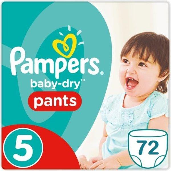 Pampers Pampers Baby Dry Pants Maat 5 - 72 Luierbroekjes