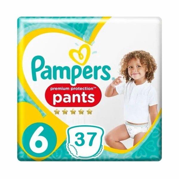 Pampers Pampers Premium Protection Pants Maat 6 - 37 Luierbroekjes