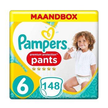 Pampers Premium Protection Pants Maat 6 - 148 Luierbroekjes Maandbox