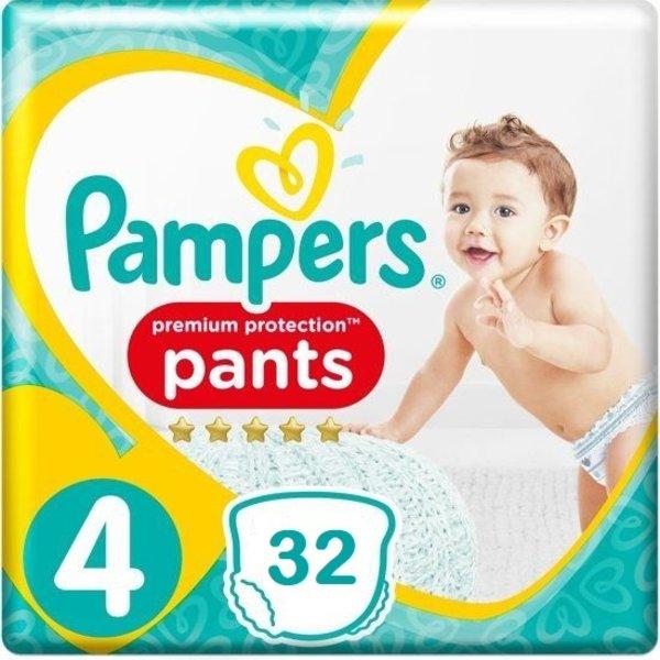 Pampers Pampers Premium Protection Pants Maat 4  - 32 Luierbroekjes