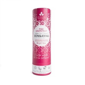 Ben & Anna Deodorant 60 g Push Up Pink Grapefruit