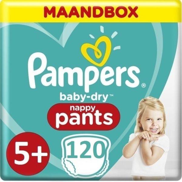 Pampers Pampers Baby Dry Pants Maandbox Maat 5+ - 120 Luiers