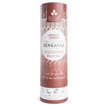 Ben & Anna Deodorant 60 gram Push Up Nordic Timber