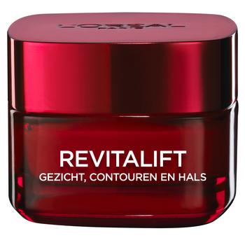 Loreal Revitalift Crème 50 ml Gezicht, Contour En Hals