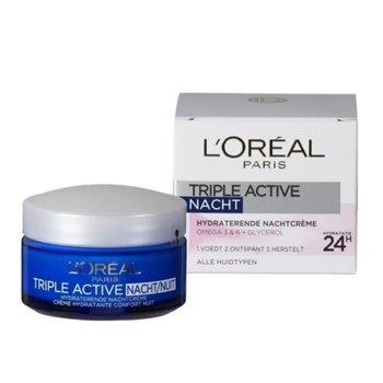L'Oréal Paris Nachtcrème 50 ml Triple Active Hydraterend