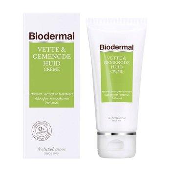Biodermal  Huid Crème 50 ml Voor Vette en Gemengde Huid