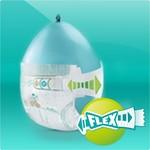 Pampers Pampers Baby Dry Maandbox XL Maat 4+ - 164 Luiers