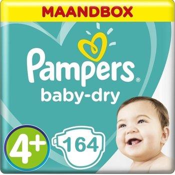 Pampers Baby Dry Maandbox XL Maat 4+ - 164 Luiers
