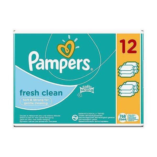 Pampers Pampers Fresh billendoekjes 12x64