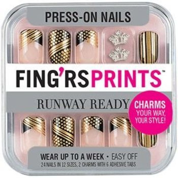 Fing'rs Nagels Fing'sPrints Runway Ready
