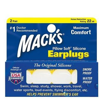 Mack's Earplugs - 2 paar