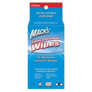 Mack's Lens Wipes Cleaning Towel 30st