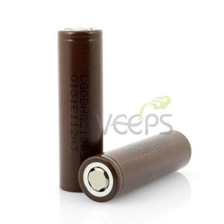 LG LG HG2 40A 3000 mAh 18650 Flattop Batterij