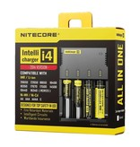Nitecore Nitecore Intellicharger New i4 batterij snellader