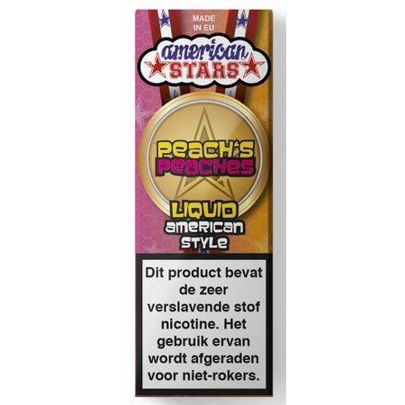 American Stars Flavourtec American Stars-Peach's Peaches