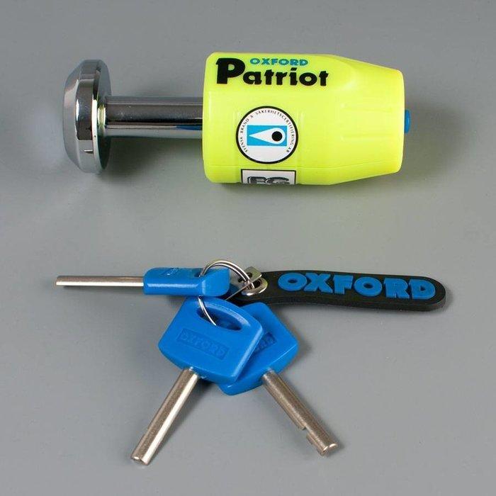 Oxford Patriot chain lock 1.5M