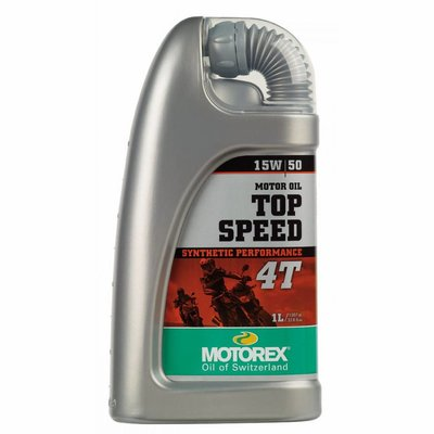 Motorex Top speed 15W/50 motorolie