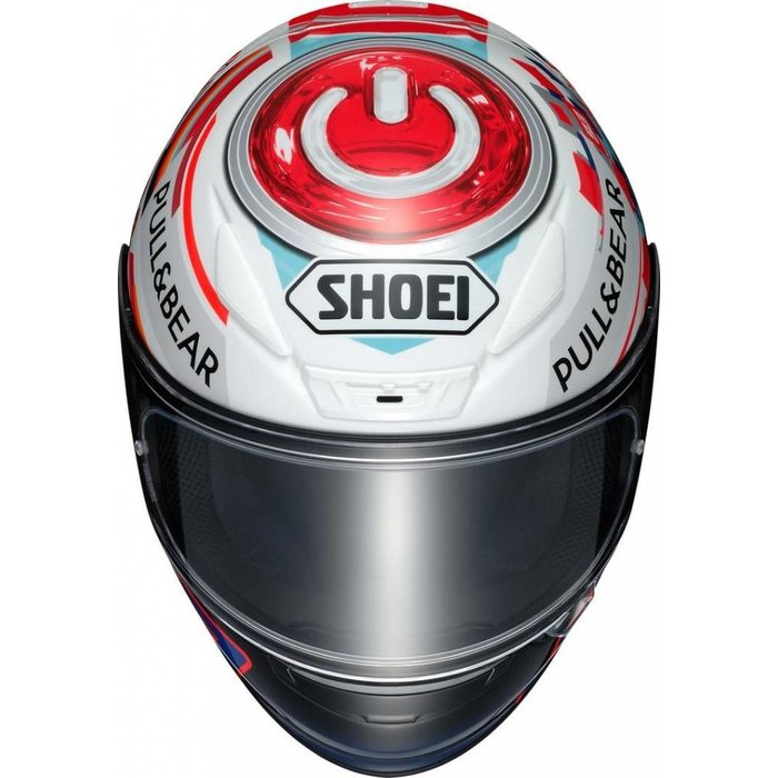 Shoei NXR Marquez power up