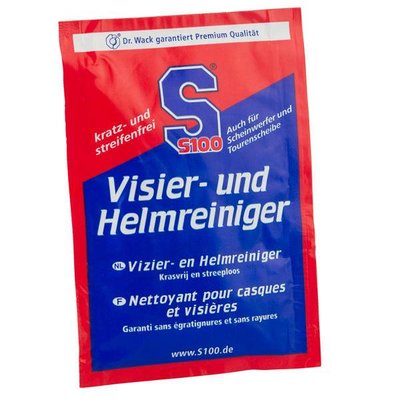 S100 Visor and helmet cleaner cloth