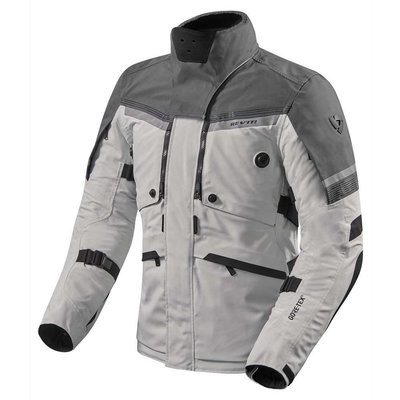 REV'IT Poseidon 2 GTX jacket silver-anthracite
