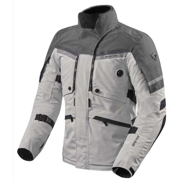 REV'IT Poseidon 2 GTX jacket silver-anthracite