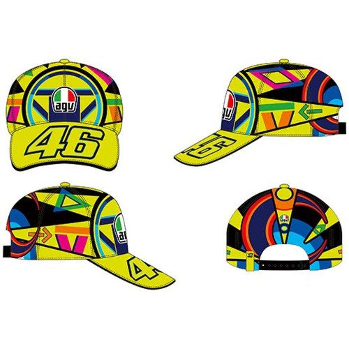VR 46 Helmet multicolor