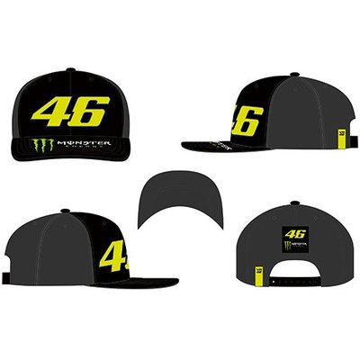 VR 46 Rossi monster dual black