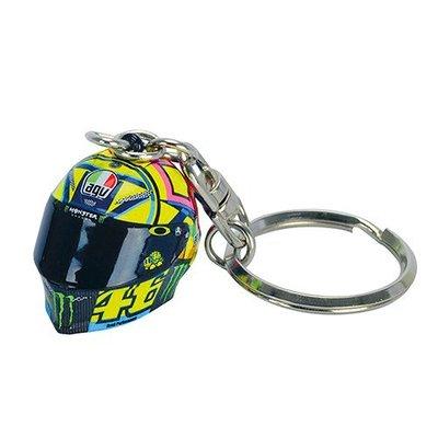 VR 46 Sleutel-hanger 3D helm