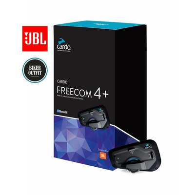 Cardo Freecom 4 Plus JBL enkel