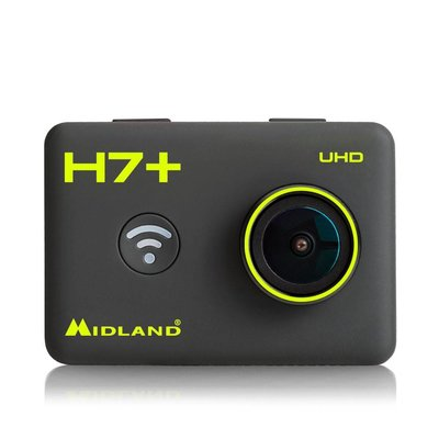 Midland H7 + Action Camera 4K with LCD 2 inch+ remote control