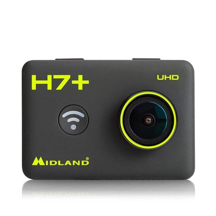 "Midland Midland H7+ Actie Camera 4K with LCD 2"" + remote control"