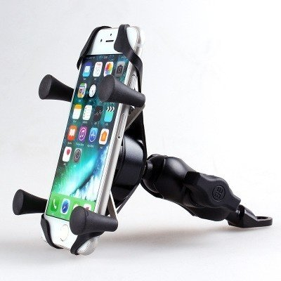 JH Sports Universal motorcycle smartphone holder