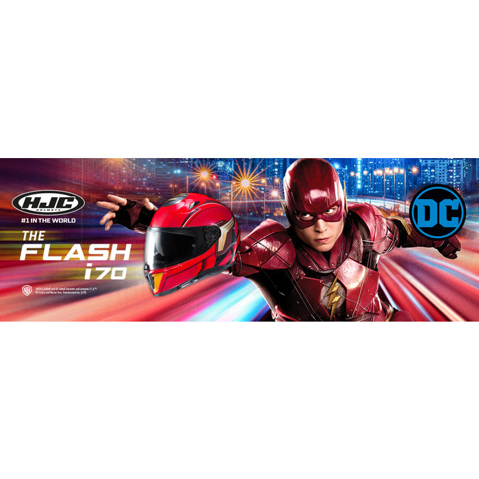 HJC I70 The Flash DC Comics