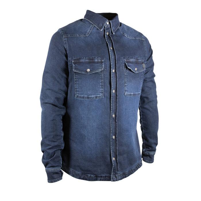 John Doe Motoshirt denim dark blue