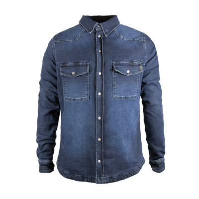 John Doe Motoshirt denim dark blue