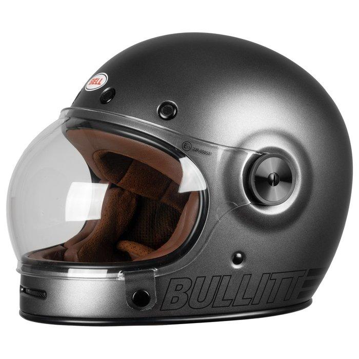 Bell Bullitt Retro Metallic Titanium