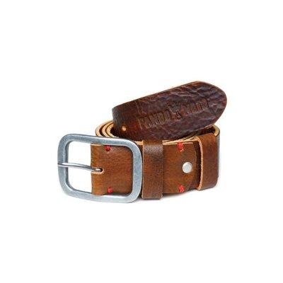 Pando Moto Tan Full Grain Leather Belt