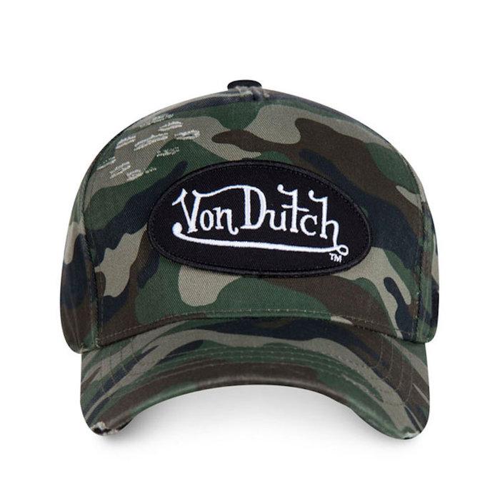 Von Dutch Baseball cap Jack camo