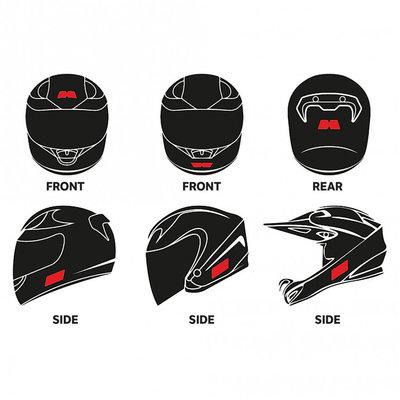 Booster Reflectieset helmet