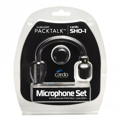 Cardo systems Microphone set Hybrid + Corded